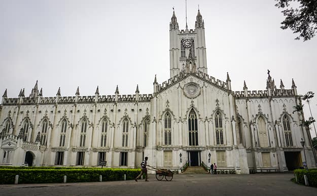 Kolkata - st paul cathedral