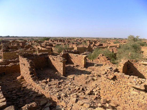Kuldhara in Jaisalmer, Rajasthan, Photograph Courtesy: Suryansh Singh/Wikimedia Commons