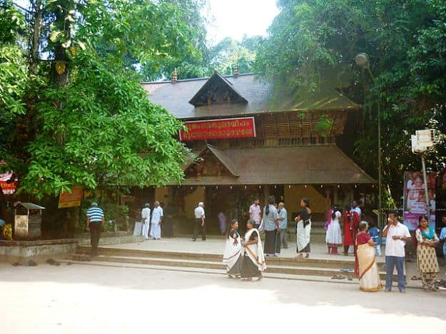 Mannarasala Temple, Photograph courtesy: Vibitha vijay/Wikimedia Commons