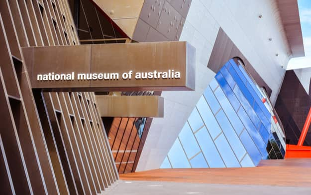 National Museum of Australia - Explores the land, nation and people of Australia, focusing on Indigenous histories and cultures, and European settlement