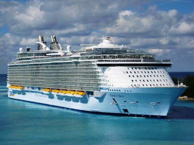 The Worlds Largest Cruise Ship MS Symphony Of The Seas Will Set - First cruise ship in the world