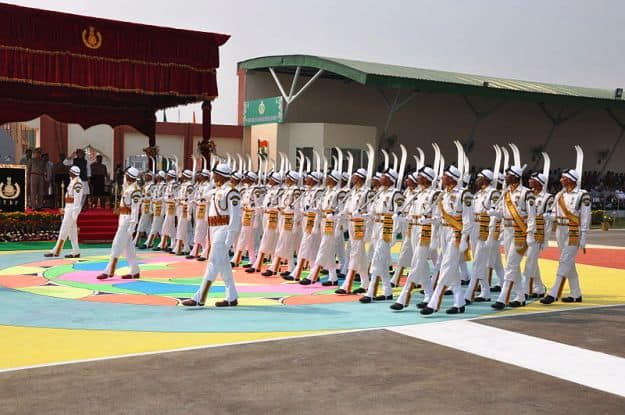 Raising Day Parade of ITBP on 24th October, 2014, Photograph Courtesy: Vivekitbp/Wikimedia Commons