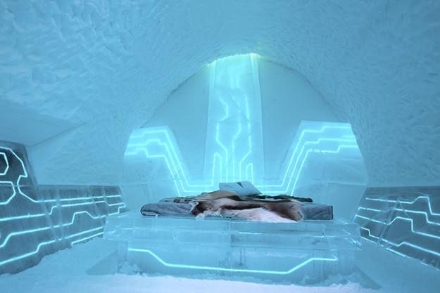 Sweden Ice Hotel Suite
