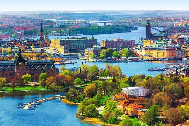 Sweden Stockholm panorama