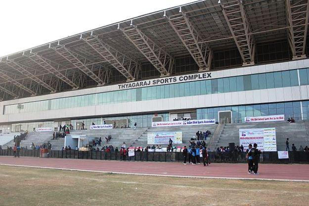 Thyagaraj stadium, Delhi, Photograph Courtesy: Wikimedia Commons