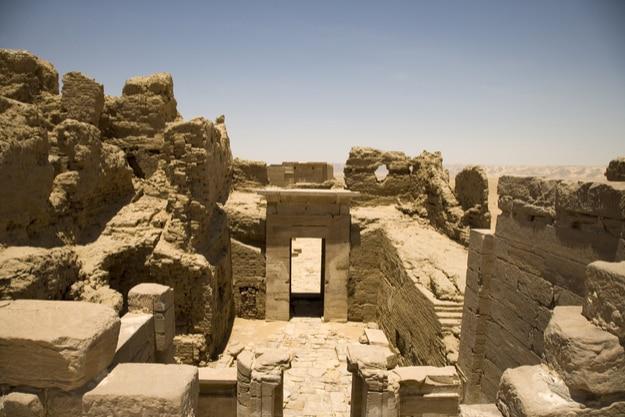 Abusir necropolis, Egypt