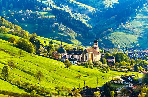 mountain landscape Germany