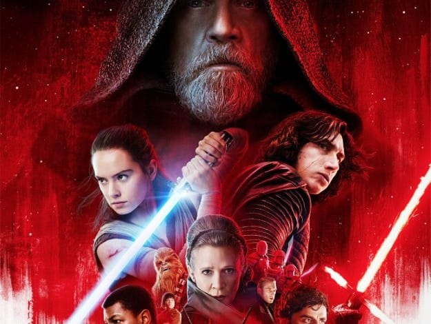 Star Wars: The Last Jedi poster, Photograph Courtesy: Luscasfilm