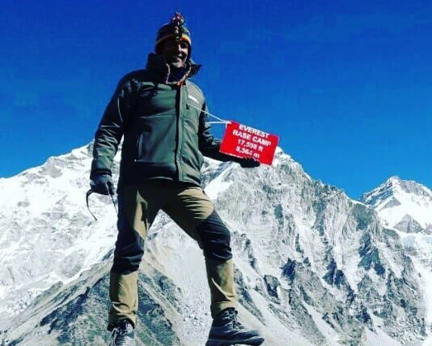 Milind Soman Just Did the Everest Base Camp Trek; View Photos