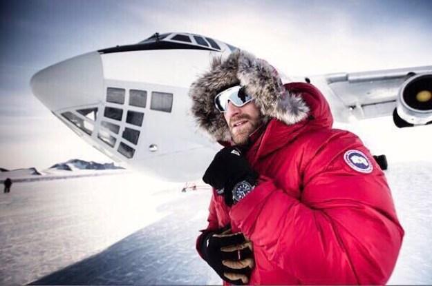 Ben Saunders at Union Glacier, Photograph Courtesy: Ben Saunders/Instagram