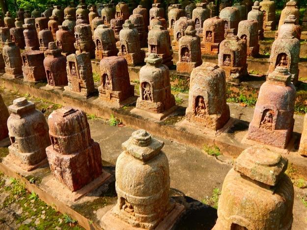 Ancient Ruined Buddhist Monestry of 800 AD at Ratnagiri