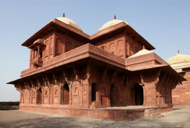 Birbal's Palace in Fatehpur Sikri royal complex