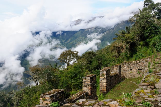 Choquequirao lost ruins near Cuzco