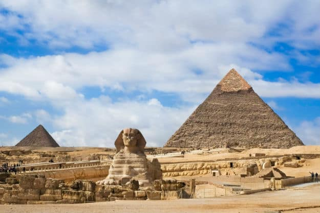 the history of the great sphinx of giza The great sphinx of giza, commonly referred to as the sphinx, is a limestone statue of a reclining or couchant sphinx (a mythical creature with a lion's body and a.