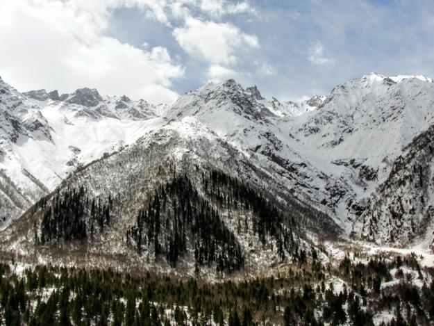 Greater Himalayan Ranges from Kinnaur