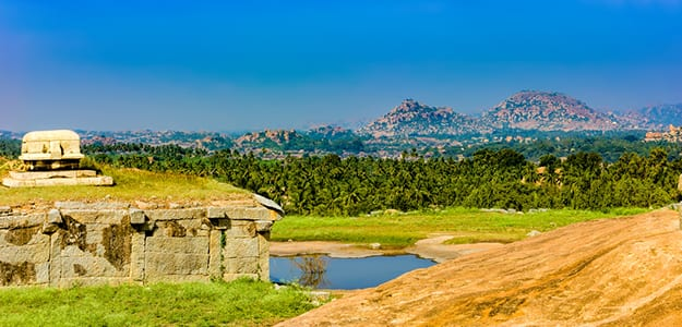 Hampi sunset point