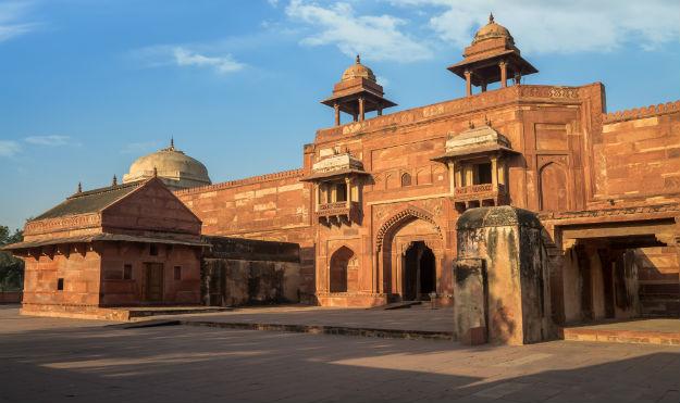 Jodha Bai's Palace in Fatehpur Sikri complex