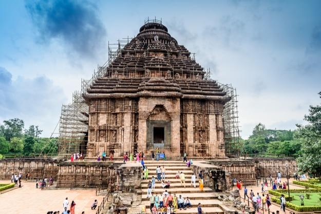 Konark Sun Temple is a 13th-century CE Sun Temple at Konark in Odisha