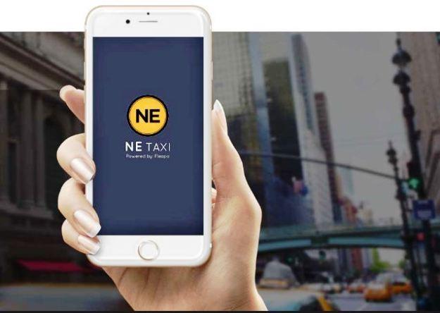The NE Taxi app, Photograph courtesy: NE Taxi website
