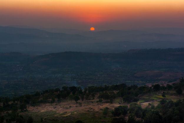 Panhala sunset