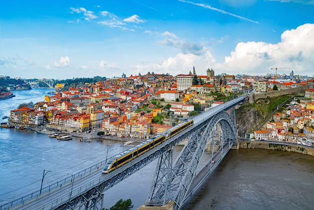 Portugal - Dom Luis bridge