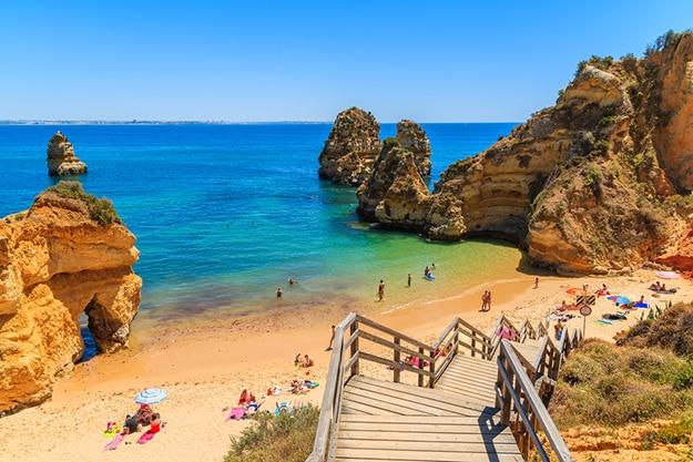 Praia do Camillo beach - Portugal