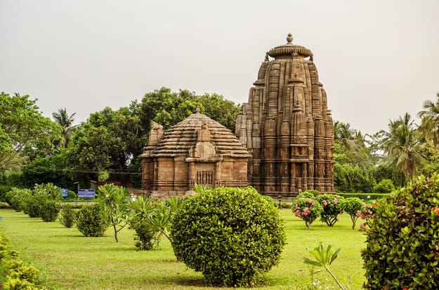 Rajarani Temple is an ancient Hindu temple built in 11th century. It was built with sand stones on Kalinga Architecture