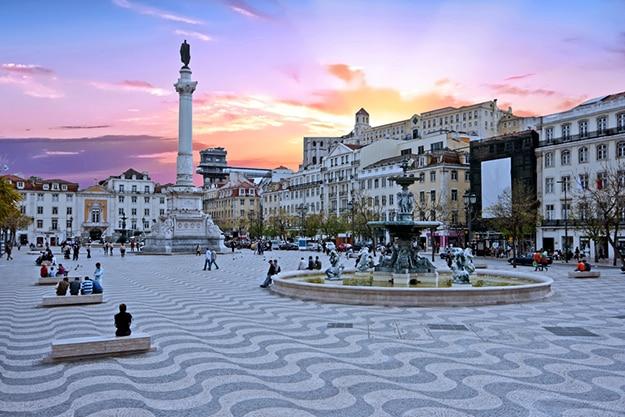 Rossia square - Portugal