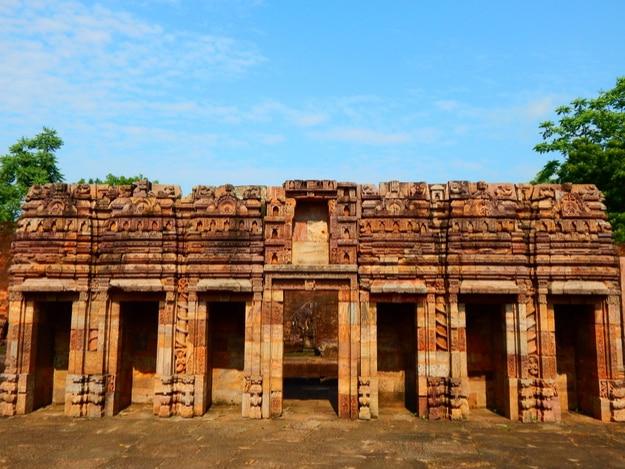 Ruined Buddhist monastery of Ratnagiri , Odisha