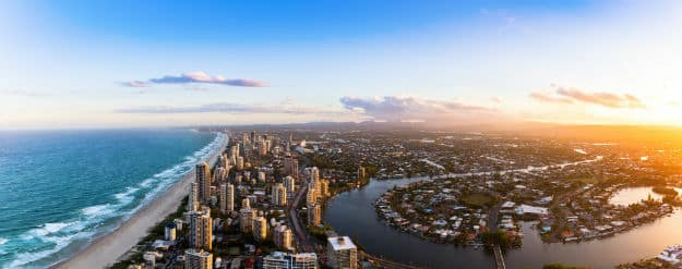 Southern Gold Coast Broad Beach Queensland photo