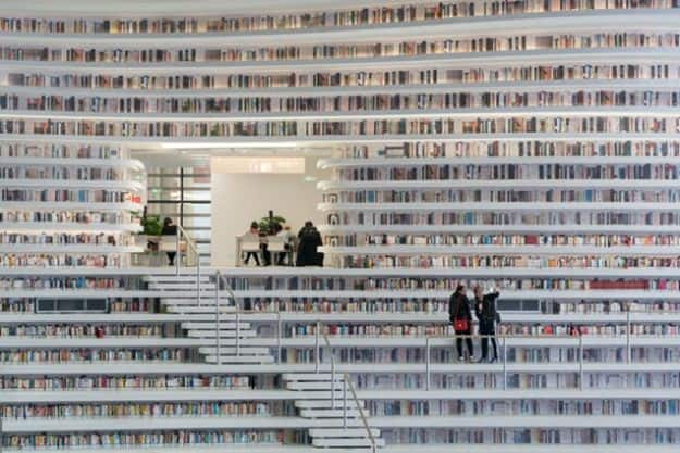 Tianjin Binhai Library 3