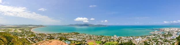 Townsville Queensland panorama photo