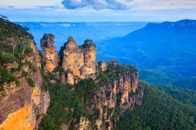 The Three Sisters From Echo Point, Blue Mountains National Park