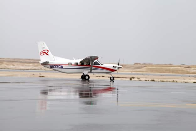 A Quest Kodiak aircraft, seen here at the 2014 Bahrain International Airshow
