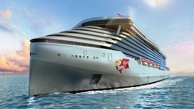 Virgin Voyages ship concept, Photograph courtesy: Virgin Voyages