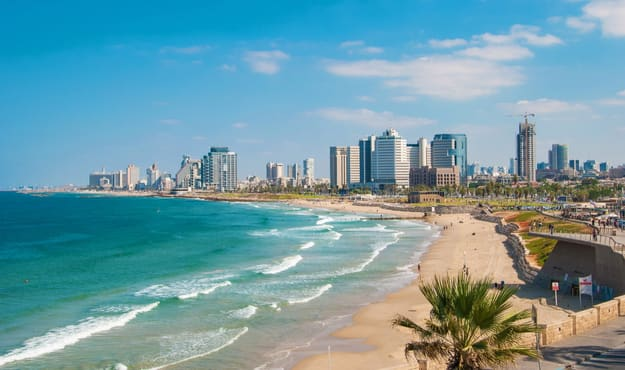 Photos of Tel Aviv, Israel's Very Own 'Sin City' and a World Unto Itself