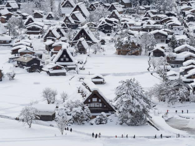Winter - Asia - Japan
