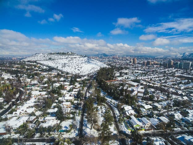 Winter - Chile