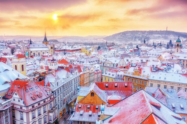 Winter - Europe Prague