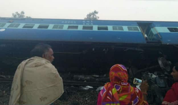 UP train derailment: CM announces Rs 2 lakh compensation