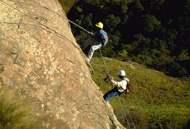 Abseiling, Photograph Courtesy: South African Tourism