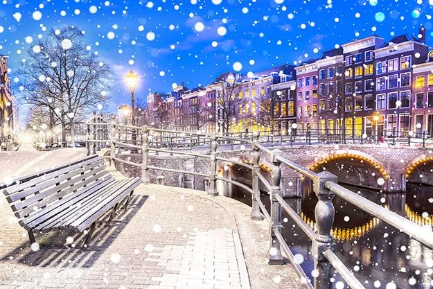 Amsterdam bench