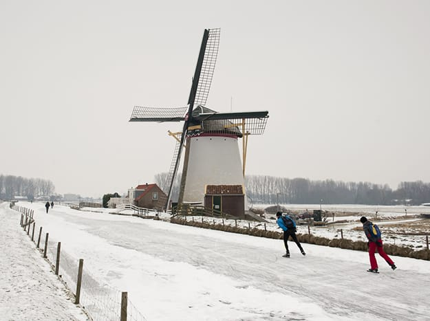 Amsterdam photo windmill