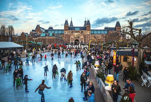 Amsterdam skating 1