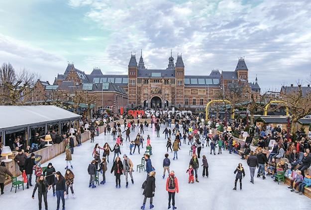 Amsterdam skating 2