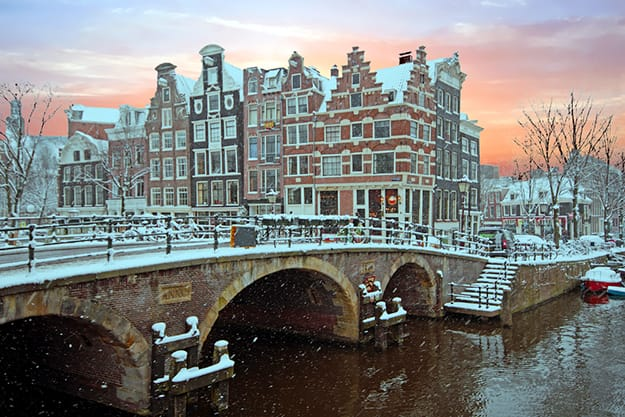 Amsterdam sunset 2