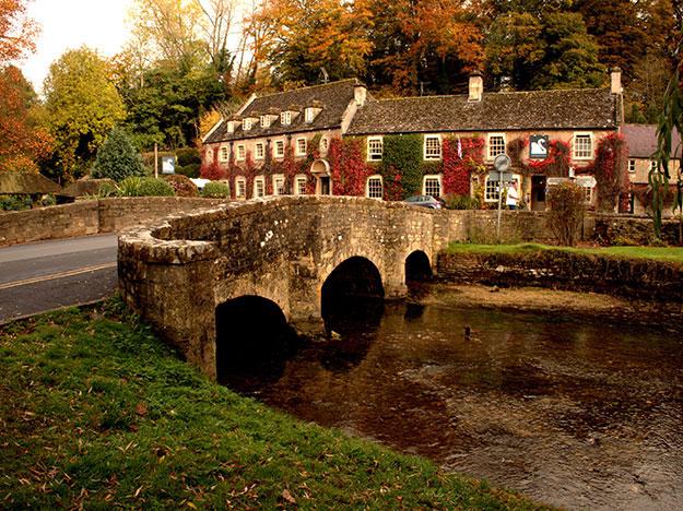 Bilburry village England photo