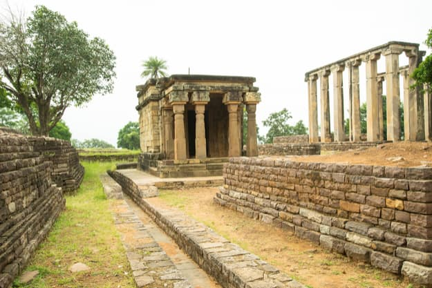 HIstorical building and landscape of Sanchi,Bhopal
