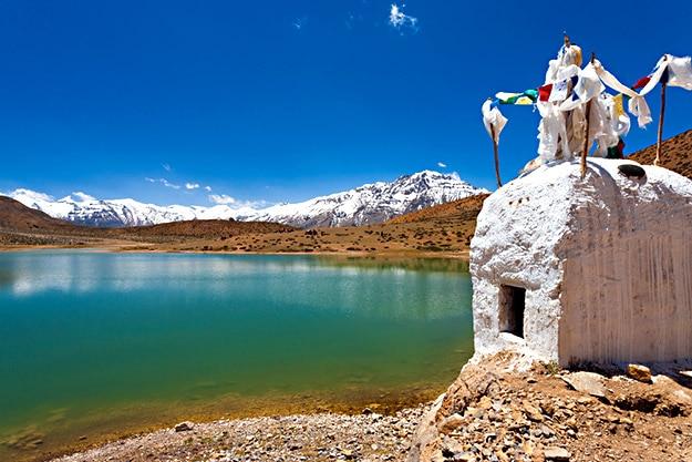 Himachal stupa photo