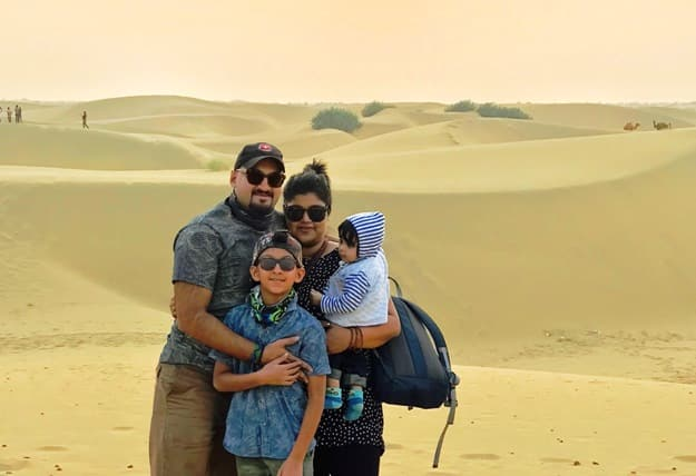 This Family of Four Traveled 13 Countries and 40 Cities in Six Months!
